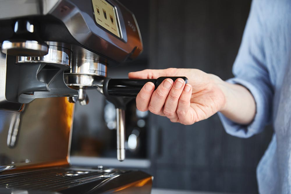 artisan coffee co espresso makers & machines brew guide portafilter secure grounds