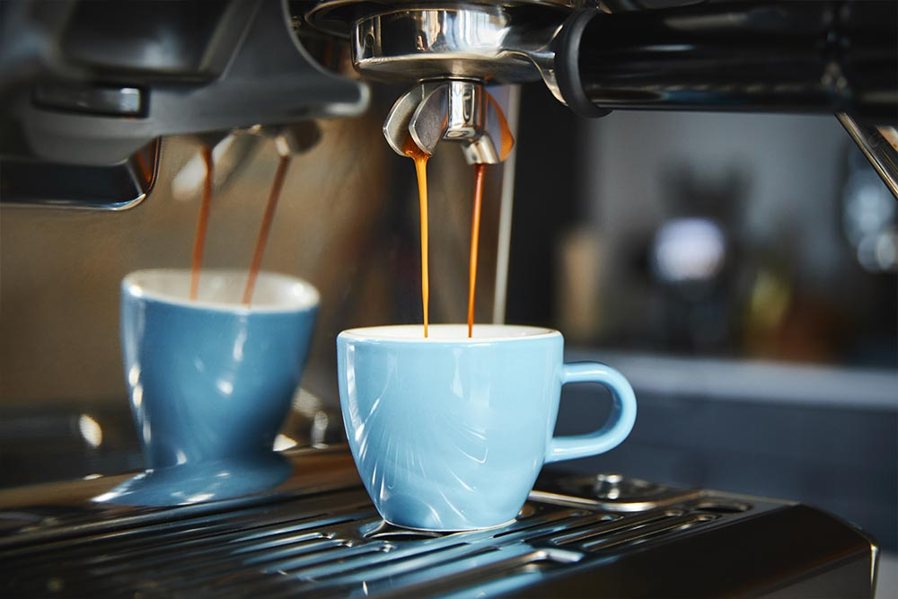 artisan coffee co espresso makers & machines brew guide heated cup porter filter brewing espresso double shot