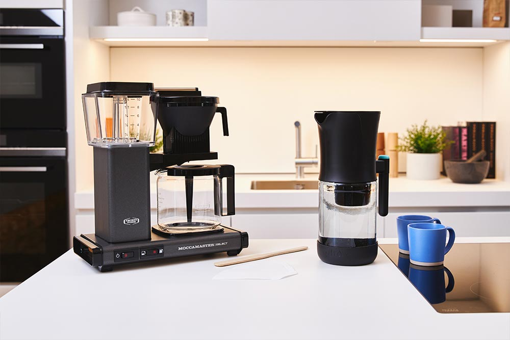 Artisan coffee co moccomaster brew guide gather equipment machine