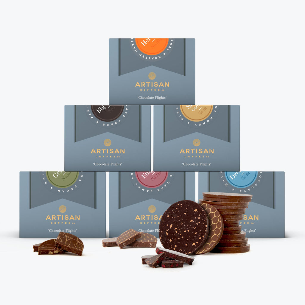 Chocoholic collection artisan coffee co fathers day gift idea bespoke sweet tooth indulgence