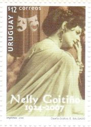 Serie Mujeres Notables Uruguayas - Nelly Goitiño - 2008 -