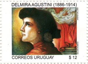 Serie Mujeres Notables Uruguayas - Delmira Agustini