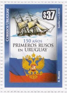 150 Year of the Arrival of First Russians in Uruguay|150 Años de la llegada de los Primeros Rusos al Uruguay - 2010 -