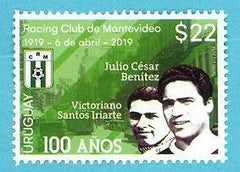 100 años del Racing Club de Montevideo - 2019-