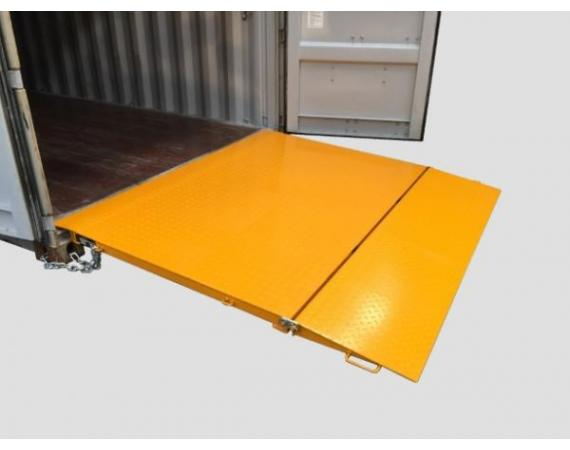 6.5 Tonne Capacity Self Levelling Container Ramp - DHE-FR6.5