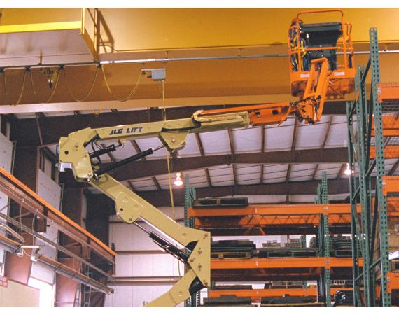 JLG 40ft Electric Narrow Knuckle Boom Lift