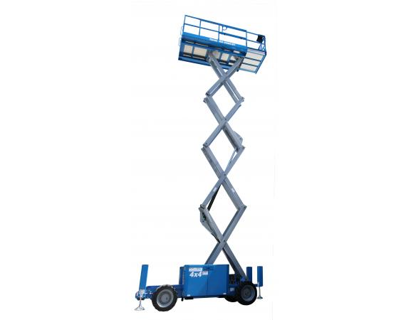 Genie 32ft RT Self Levelling Diesel Scissor Lift