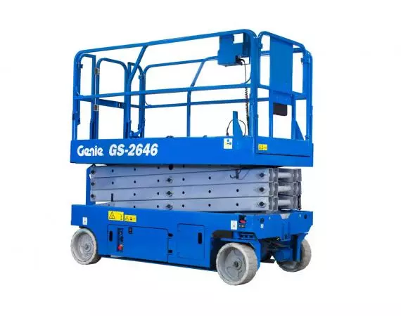Genie GS2646 26ft Electric Scissor Lift