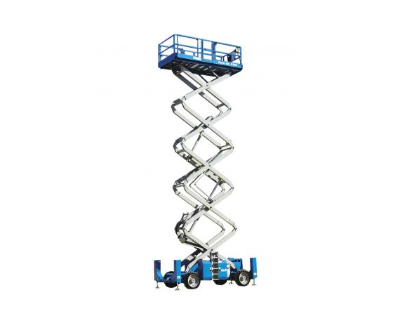 Genie 53ft RT Self Levelling Diesel Scissor Lift