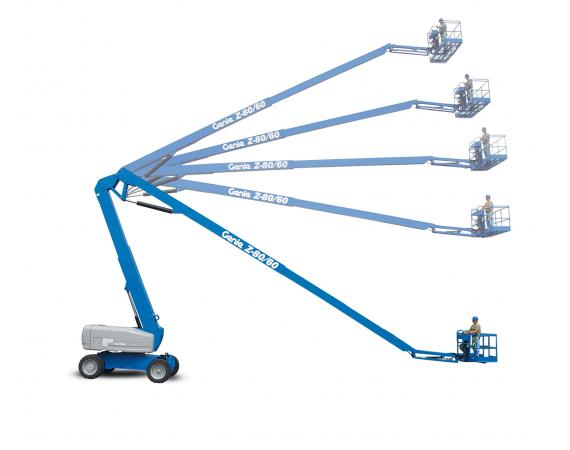 Genie80ft Diesel Knuckle Boom Lift