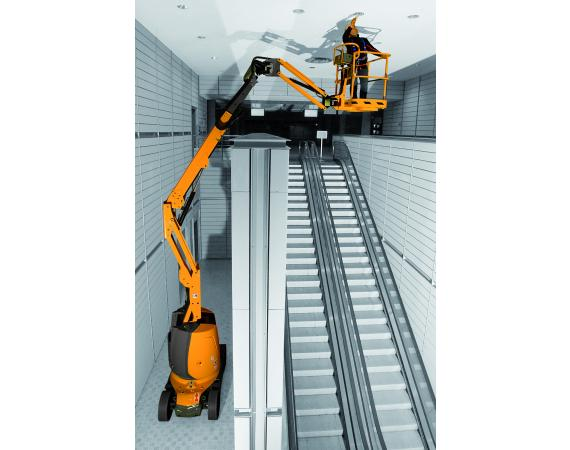 Haulotte 30ft Electric Narrow Knuckle Boom Lift