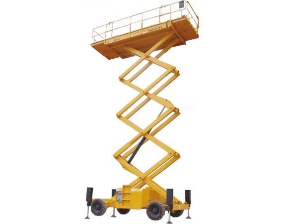 Haulotte 53ft RT Self Levelling Diesel Scissor Lift
