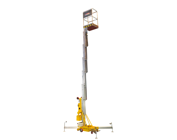 Haulotte 32ft push around manlift vertical lift