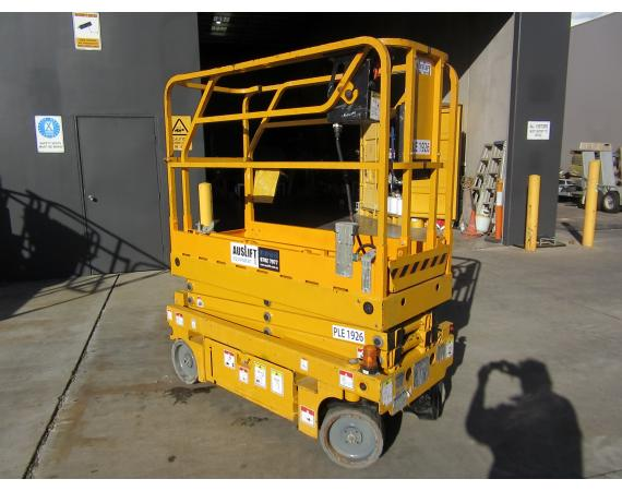 Used 2013 Haulotte Optimum 8 19ft Electric Scissor Lift