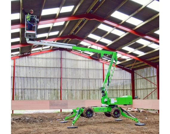 Niftylift Lightweight auto levelling 34ft Cherry Picker