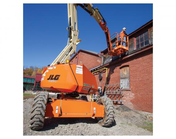 JLG 34ft Electric Knuckle Boom Lift