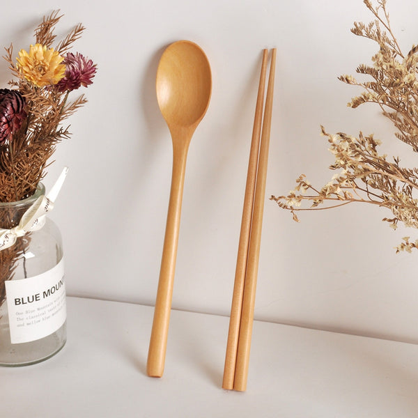 Bamboo Spoon and Chopsticks