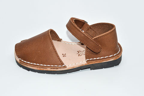 Brown Cuero - Children's Frailera