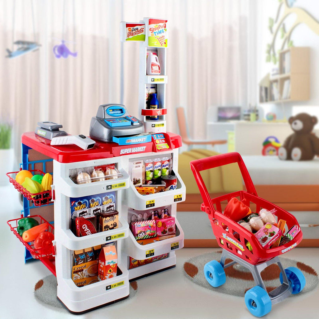 Kids SuperMarket Toy Set 24 Piece - 2uDirect Australia