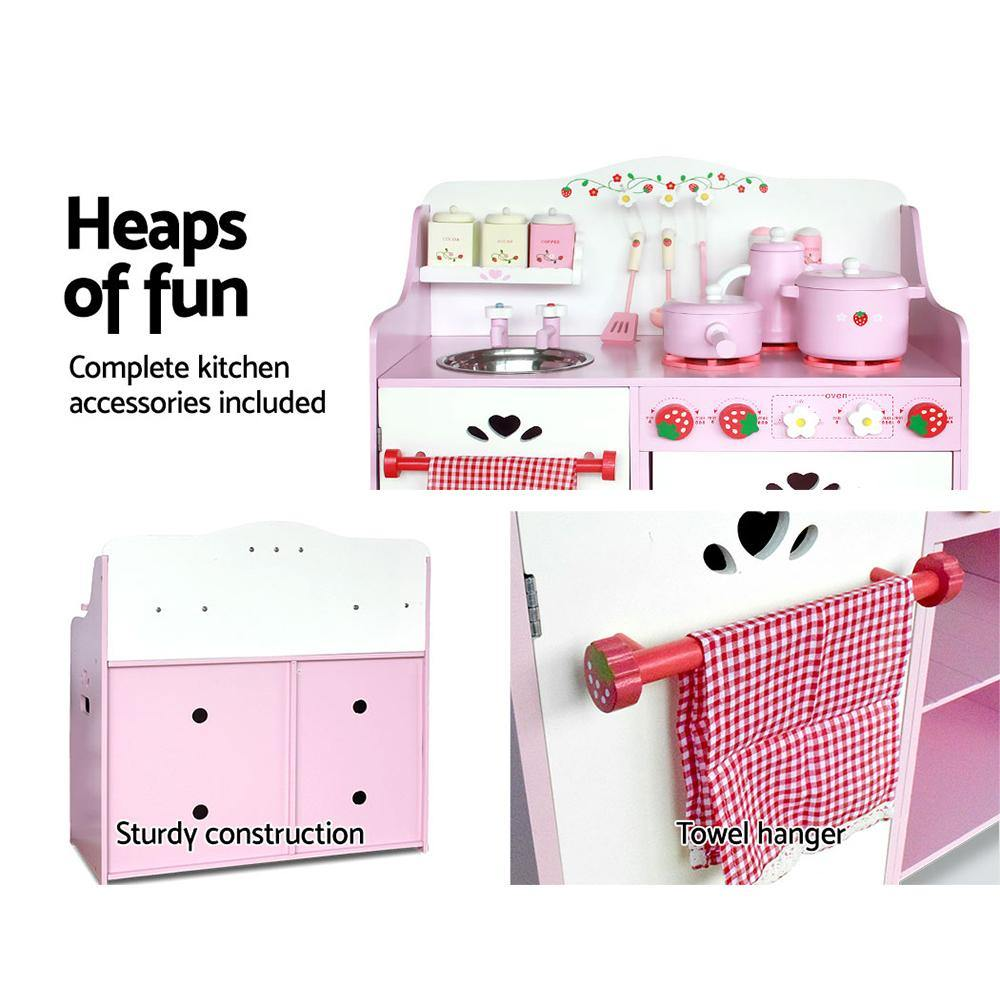 Kids Kitchen Play Set - 2uDirect Australia