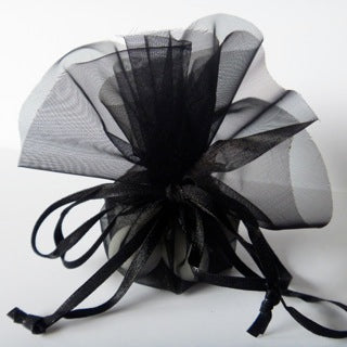 Sugar Almonds Organza Circle