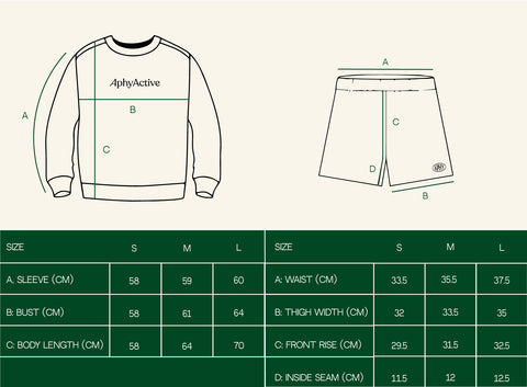 The Brooklyn/Sommer Set in Crewneck Sweater and Long Shorts