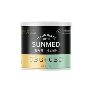Raw Hemp CBG/CBD
