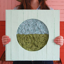 "Load image into Gallery viewer, Woven In Wood 16""x16"""