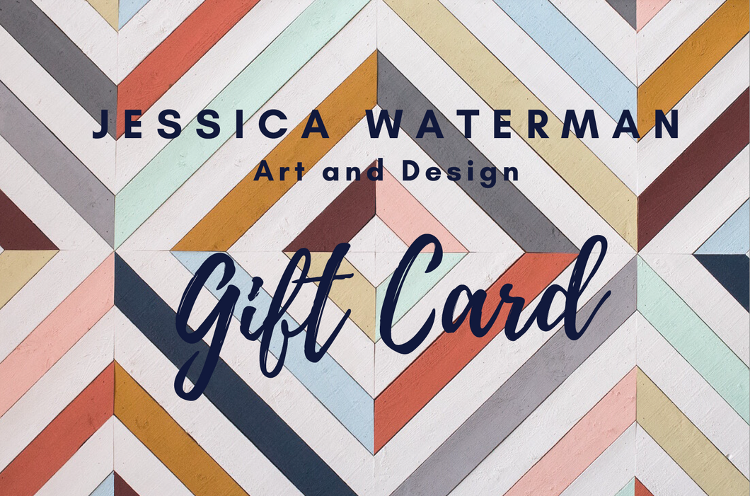 Jessica Waterman Art and Design Gift Card