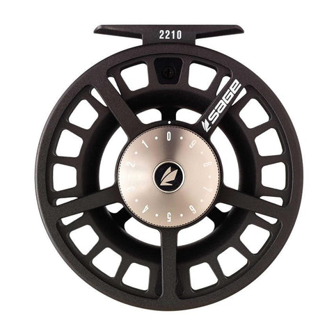 Sage Fly Reel  2280 7/8 WT  Platinum/Black