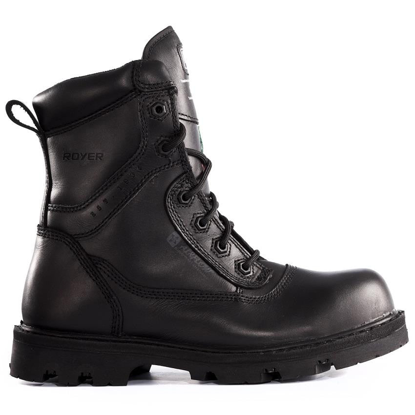 Royer Metal Free Work Boot - Black