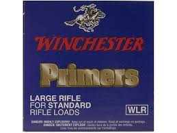 Winchester Primers - Large Rifle Standard - 100 Qty