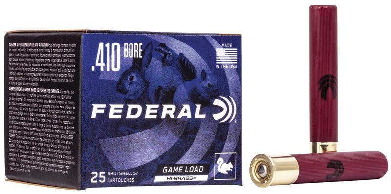 Federal High Brass Game Load 410 Gauge 3'' 11/16OZ #5