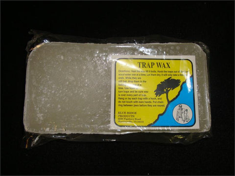 Blue Ridge Products Trap Wax Water 1 Lb