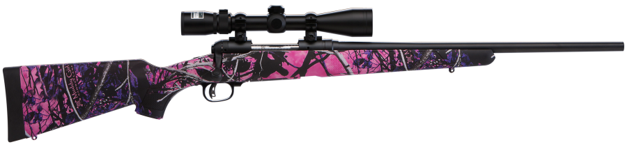 Savage 11 Trophy Hunter 223 Rem Muddy Girl Camo W/Weaver 3-9x40