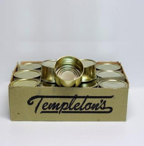 Templeman's 1-Pound Steel Cans - 24/case