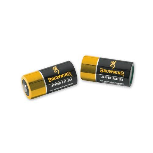 Browning 3V CR123A All-Temperature Batteries- 2 Pack