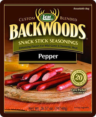 LEM Pepper Snack Stick Season - 5LBS