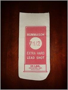 Hummason Extra Hard Lead Shot #6 25LB Bag