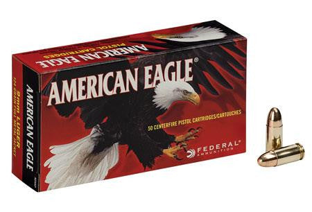 American Eagle 9mm Luger 124 Gr FMJ