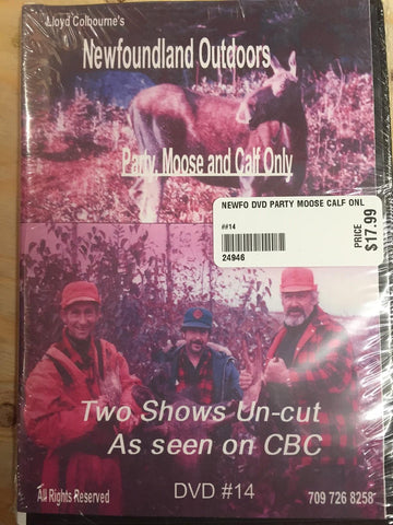 Newfoundland Outdoors - Lloyd Colbourne - Party Moose and Calf Only