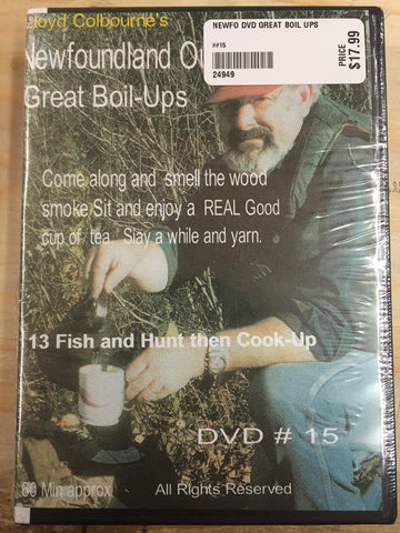 Newfoundland Outdoors - Lloyd Colbourne - Great Boil-Ups