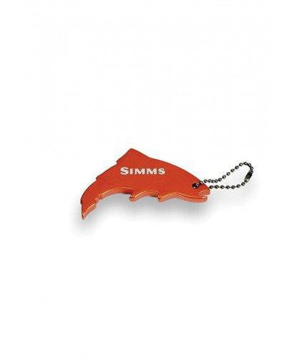 Simms Thirsty Trout Keychain - Orange