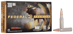 Federal Premium Nosler Partition 308 Win 180 Gr.