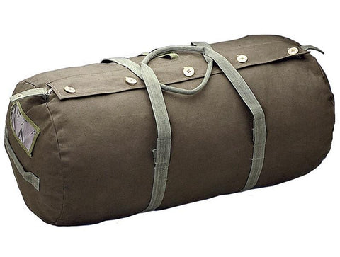 Canvas Paratrooper Bag - Olive Drab