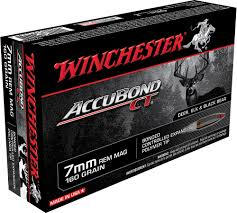 Winchester Accubond CT 7mm Rem Mag 160 Gr