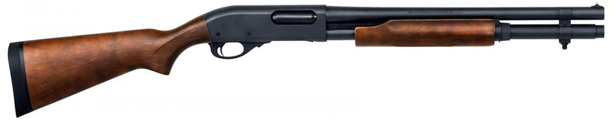 Remington 870 Hardwood Home Defense 12 Gauge 3'' 18.5'' BBL