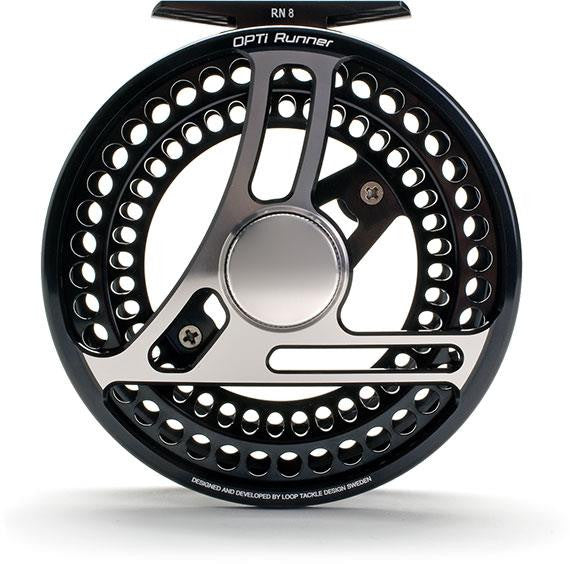 Loop Optirunner Fly Reel - Right - Black