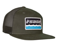 Sage On The Water Trucker Cap
