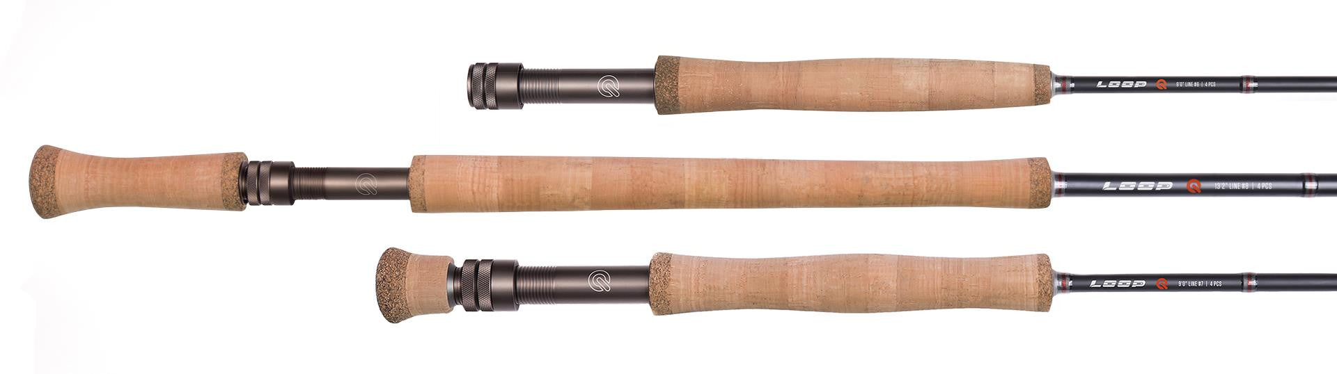 Q-Rod 9' 8WT 4PC Fly Rod
